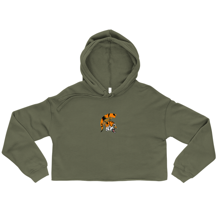 Spartan Tiger -  Crop Hoodie - GiO 1998 Online Clothes Shop