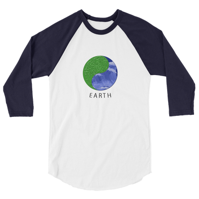 Earth - 3/4 sleeve raglan shirt - GiO 1998 Online Clothes Shop