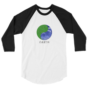Earth - 3/4 sleeve raglan shirt - GiO (1998) Online Clothes Shop