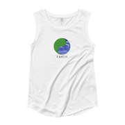 Earth - Ladies' Cap Sleeve T-Shirt - GiO 1998 Online Clothes Shop