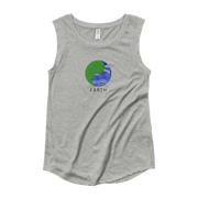 Earth - Ladies' Cap Sleeve T-Shirt - GiO (1998) Online Clothes Shop