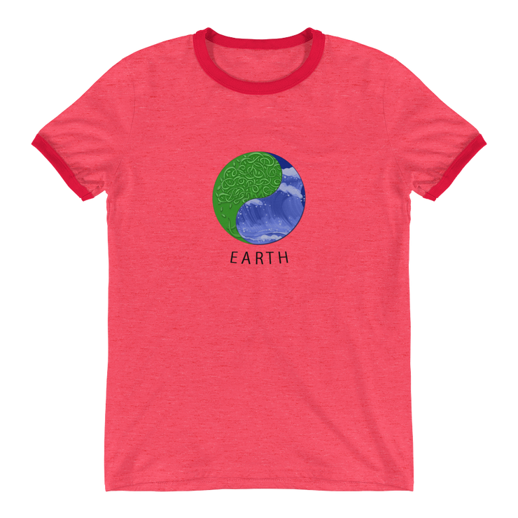 Earth - Ringer T-Shirt - GiO 1998 Online Clothes Shop