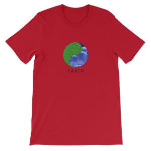 Earth - Short-Sleeve Unisex T-Shirt - GiO (1998) Online Clothes Shop