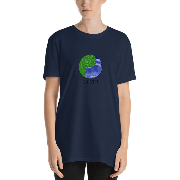 Earth - Short-Sleeve Unisex T-Shirt (International) - GiO (1998) Online Clothes Shop