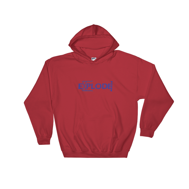 Explode - Hooded Sweatshirt - GiO (1998) Online Clothes Shop