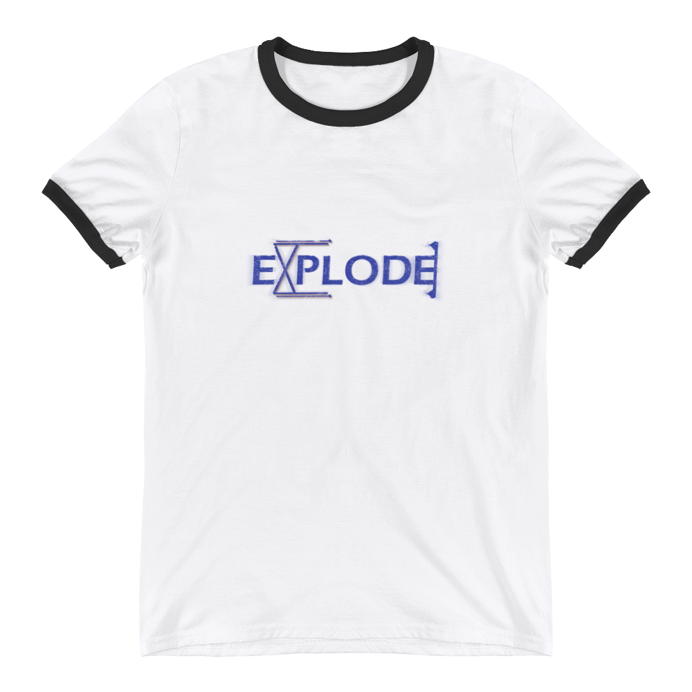Explode - Ringer T-Shirt - GiO (1998) Online Clothes Shop