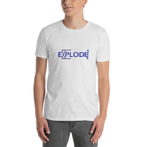 Explode - Short-Sleeve Unisex T-Shirt (International) - GiO (1998) Online Clothes Shop