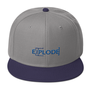 Explode - Snapback Hat - GiO (1998) Online Clothes Shop