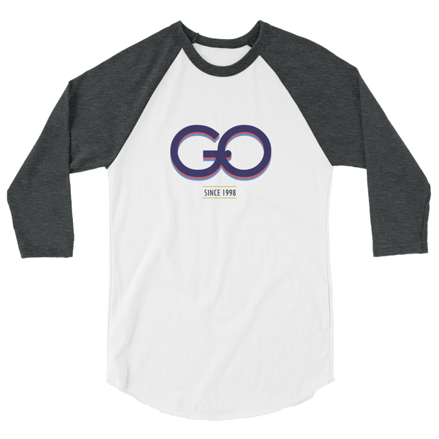 GiO (1998) Logo - 3/4 sleeve raglan shirt - GiO (1998) Online Clothes Shop