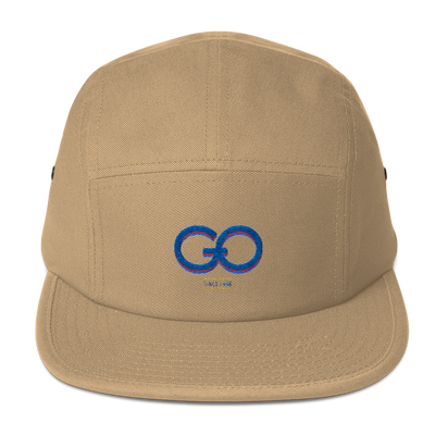 GiO (1998) Logo - Five Panel Cap - GiO (1998) Online Clothes Shop