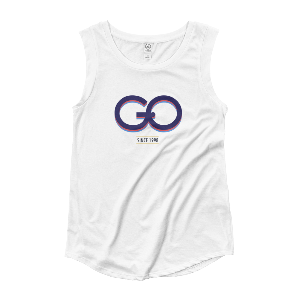 GiO (1998) Logo - Ladies' Cap Sleeve T-Shirt - GiO (1998) Online Clothes Shop