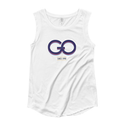 GiO (1998) Logo - Ladies' Cap Sleeve T-Shirt - GiO 1998 Online Clothes Shop