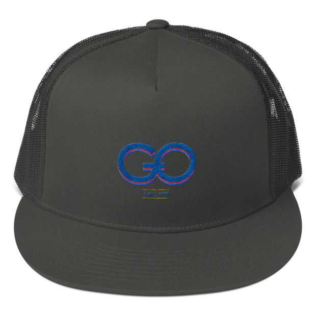 GiO (1998) Logo - Mesh Back Snapback Hat - GiO 1998 Online Clothes Shop