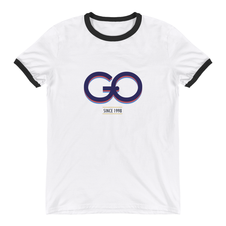 GiO (1998) Logo - Ringer T-Shirt - GiO 1998 Online Clothes Shop