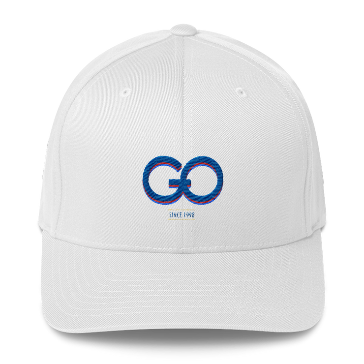 GiO (1998) Logo - Structured Twill Cap - GiO 1998 Online Clothes Shop