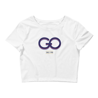 GiO (1998) Logo - Women's Crop Tee - GiO (1998) Online Clothes Shop