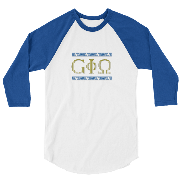 GiO Ancient Greece - 3/4 sleeve raglan shirt - GiO (1998) Online Clothes Shop