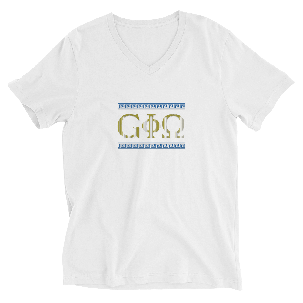 GiO Ancient Greece - Unisex Short Sleeve V-Neck T-Shirt - GiO (1998) Online Clothes Shop