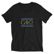GiO Ancient Greece - Unisex V-Neck T-Shirt - GiO 1998 Online Clothes Shop