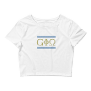 GiO Ancient Greece - Women's Crop Tee - GiO 1998 Online Clothes Shop