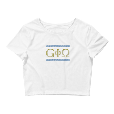 GiO Ancient Greece - Women's Crop Tee - GiO (1998) Online Clothes Shop