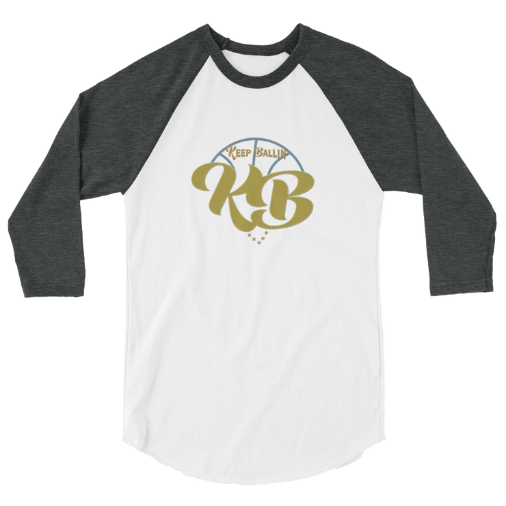 Keep Ballin' - 3/4 sleeve raglan shirt - GiO 1998 Online Clothes Shop