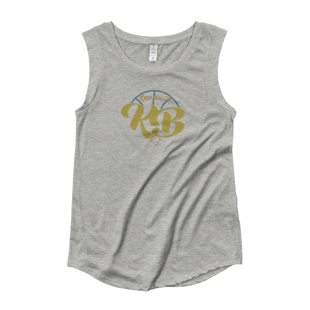 Keep Ballin' - Ladies' Cap Sleeve T-Shirt - GiO (1998) Online Clothes Shop