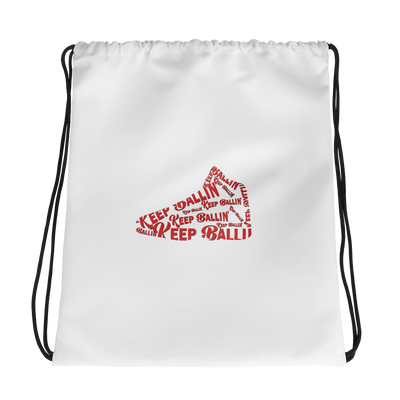 Keep Ballin' Shoe - Drawstring bag - GiO 1998 Online Clothes Shop