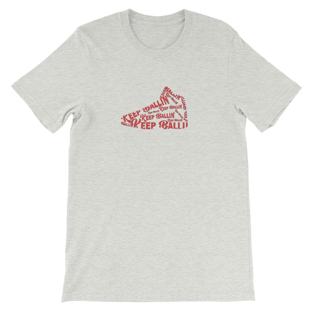 Keep Ballin' Shoe - Short-Sleeve Unisex T-Shirt - GiO (1998) Online Clothes Shop
