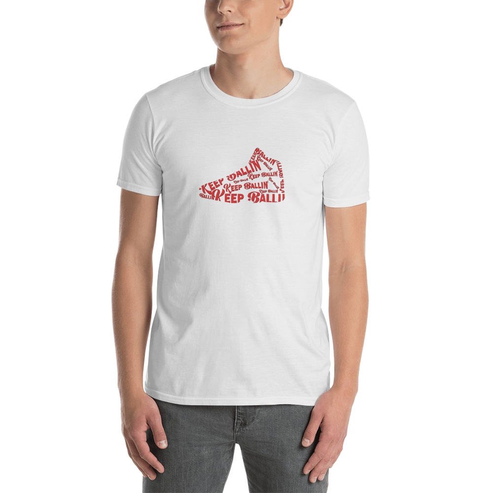 Keep Ballin' Shoe - Short-Sleeve Unisex T-Shirt (International) - GiO (1998) Online Clothes Shop