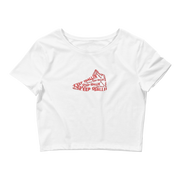 Keep Ballin' Shoe - Women's Crop Tee - GiO (1998) Online Clothes Shop