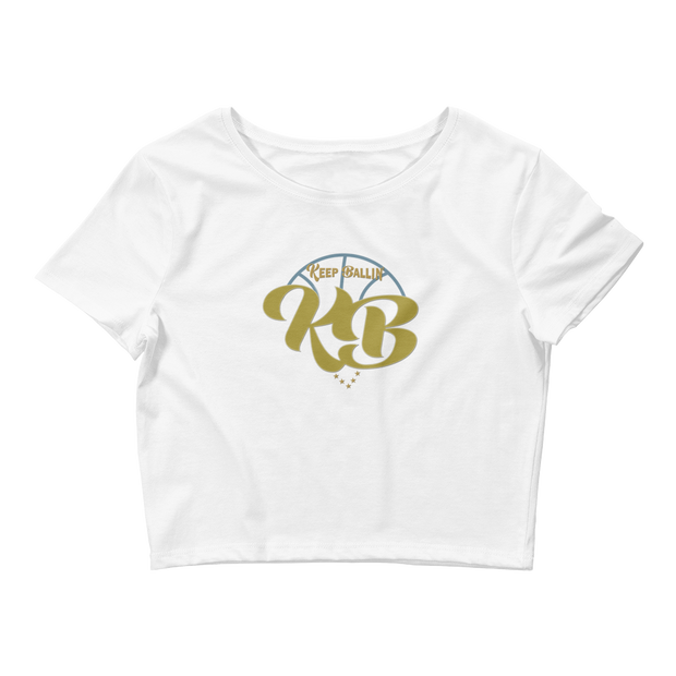 Keep Ballin' - Women's Crop Tee - GiO 1998 Online Clothes Shop