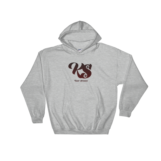 Keep Spinnin' - Hooded Sweatshirt - GiO (1998) Online Clothes Shop