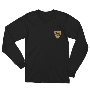 Keep Spinnin' Shield - Unisex Long Sleeve T-Shirt - GiO (1998) Online Clothes Shop