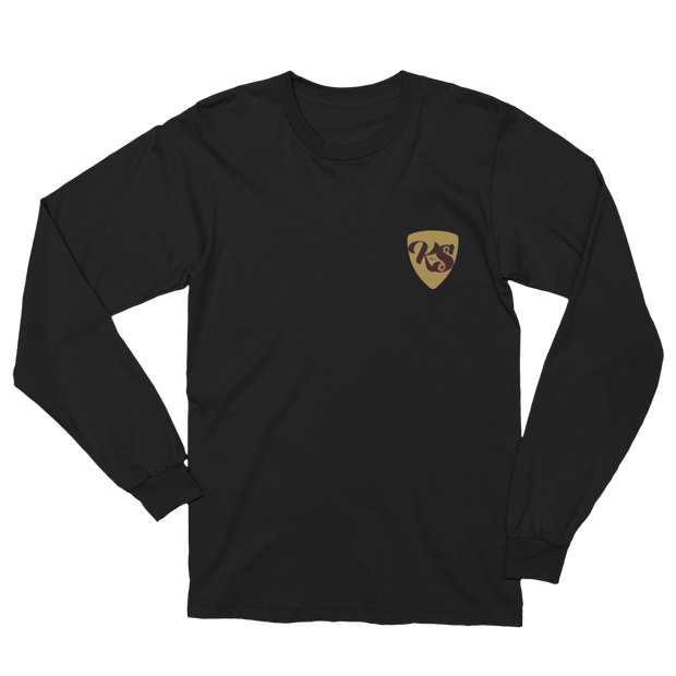 Keep Spinnin' Shield - Unisex Long Sleeve T-Shirt - GiO 1998 Online Clothes Shop