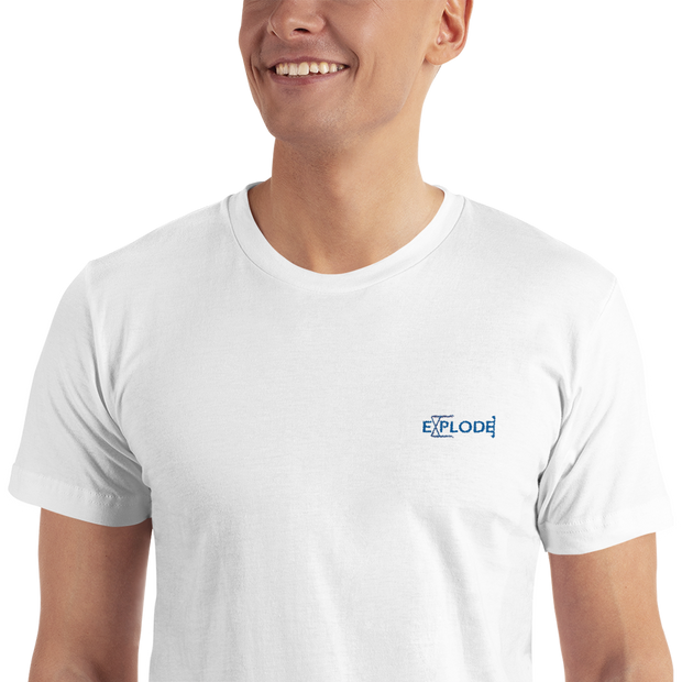 Explode - Embroidered T-Shirt - GiO (1998) Casual Style