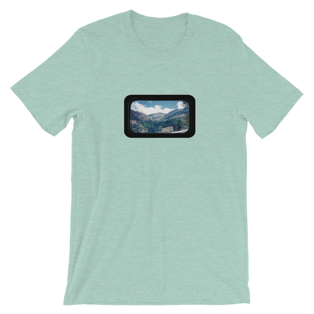 Train Views 1.0 - Unisex T-Shirt - GiO 1998 Online Clothes Shop