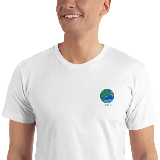 Earth - Embroidered T-Shirt - GiO (1998) Online Clothes Shop