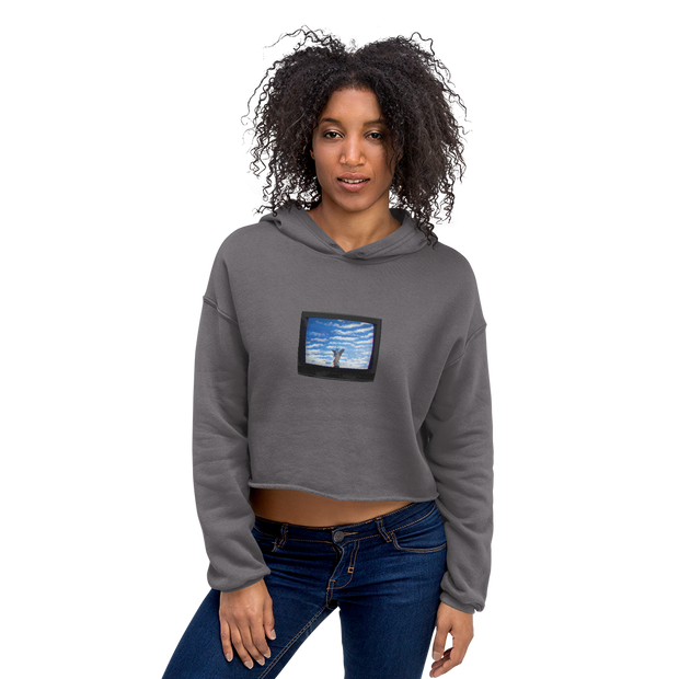 TeleVision - Crop Hoodie - GiO (1998) Online Clothes Shop