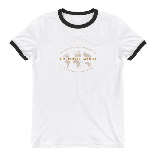 Sic Parvis Magna - Ringer T-Shirt - GiO (1998)