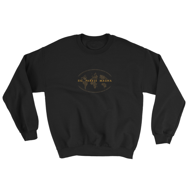 Sic Parvis Magna - Sweatshirt - GiO (1998) Casual Style
