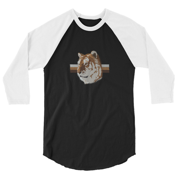 White TiGER - 3/4 sleeve raglan shirt - GiO 1998 Online Clothes Shop