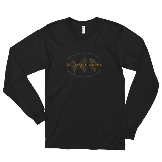 Sic Parvis Magna - Unisex Long Sleeve T-Shirt - GiO (1998) Casual Style