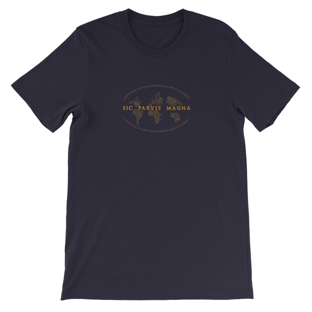 Sic Parvis Magna - Unisex T-Shirt - GiO (1998) Casual Style