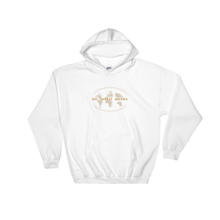 Sic Parvis Magna - Hooded Sweatshirt - GiO 1998 Online Clothes Shop