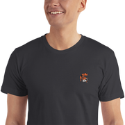 Spartan Tiger - Embroidered T-Shirt - GiO (1998) Casual Style