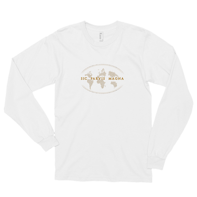 Sic Parvis Magna - Unisex Long Sleeve T-Shirt - GiO 1998 Online Clothes Shop
