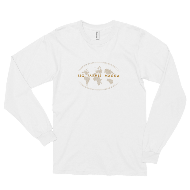 Sic Parvis Magna - Unisex Long Sleeve T-Shirt - GiO (1998) Online Clothes Shop