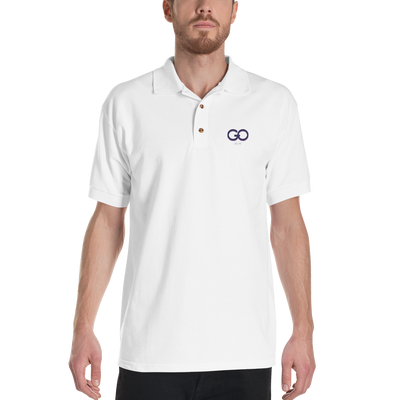 GiO 1998 Logo - Embroidered Polo Shirt - GiO (1998) Online Clothes Shop
