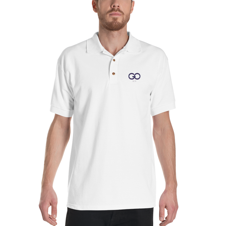 GiO 1998 Logo - Embroidered Polo Shirt - GiO 1998 Online Clothes Shop